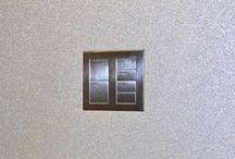 Wall-Smart for Lutron Palladiom and Grafik T / Wall-Smart flush wall mount for Lutron Palladiom - Metal, Glass and Matt (US and EU)