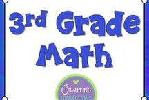 3rd Grade Math / Third Grade Math activities, centers, lessons, games, worksheets, resources and more.