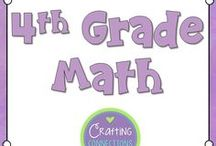 4th Grade Math / Fourth Grade Math activities, centers, lessons, games, worksheets, resources and more.