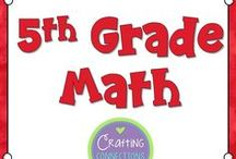 5th Grade Math / Fifth Grade Math activities, centers, lessons, games, worksheets, resources and more.