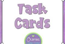 Task Cards / Task Card Tips and Freebies for the upper elementary classroom.