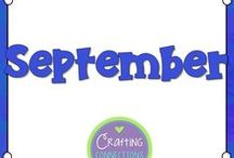 September / Tricks, tips, and classroom activities perfect for September!