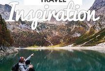 Travel inspiration / travel inspiration, inspiration for travel, traveling inspiration, travel ideas, ideas for travel