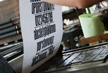 Type specimens / printed at the MIAT museum (Ghent, Belgium)