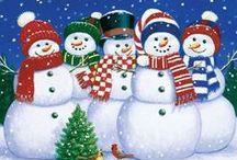 I love snowmen / Snow People ⛄️ / by Linda Thompson