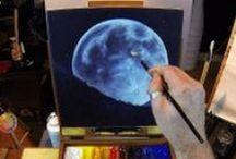 Acrylic Painting Tips / #acrylic #painting #acrylicpaintingtips #acrylicpaintingtechniques