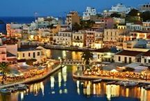 Colors of Agios Nikolaos / Discover the magic colors of Agios Nikolaos of Crete... http://goo.gl/ESGztl