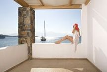 Magic moments at Minos Beach art / Minos Beach art hotel, a favorite of all those appreciating genuineness and authenticity, provides a luxurious stay in minimalist surroundings. http://goo.gl/ai1T0R