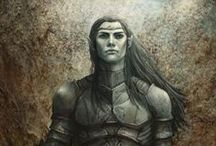 Elven, fantasy people, clothing, ideas