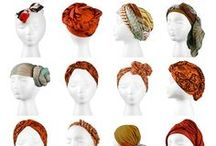 """Headscarves / Some of the """"How to's"""" and what we think looks good"""