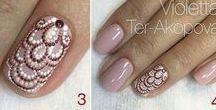 Дизайн ногтей своими руками / Рисунки на ногтях с пошаговыми инструкциями