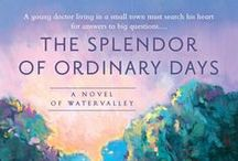 Books / Here is the cover art of the novels in the Watervalley Books series.