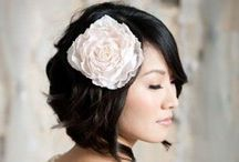 Beautiful Bridal Hair / A selection of gorgeous hair styles and hair accessories to inspire your wedding hair, whether you're the bride, bridesmaid, mum of the bride (or groom) or a guest. Happy barnet browsing!