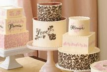 Cakes and Sweet Treats / Latest trends for truly stand out wedding cakes and sweet treats.