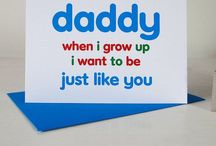 Father's Day Fancies / Gift, card and activity ideas to spoil our Dads this Father's Day