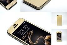 It's that easy to make it GOLD! / Here you'll find stunning GOLD skins for iPhone, SONY XPERIA, HTC, Playstation and many more by www.easyskinz.com