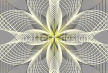 kaleidoscope / digital art >+< fractals >+< spirograph