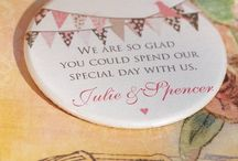 Fancy Favours / Look no further for different favour ideas
