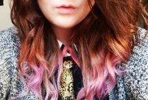 ☆ℍ⍺ⅈℝ ☆  ℋ⍺ⅈℛ  ☆ / Hair colors, styles, cuts, ideas, etc. Just my own little collection of hair related things.   / by Shattered Ink