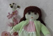 Grandma Oya's Dolls / Hello my name is Oya. I have 3 children and a grandchild. I spent my free time knitting and making cloth dolls. My children played with many dolls when they were child. Now I am knitting and making cloth dolls for my grandchild.  I wish you like my cloth dolls and let your child play with them.  Thank you.