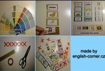 Teaching aids - English language / DIY teaching aids suitable for English lessons.
