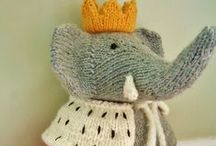 Knitting : doudou and co
