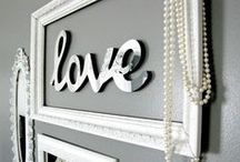 Mirror Letters of Love / Words and phrases made of mirrors expressing oneself