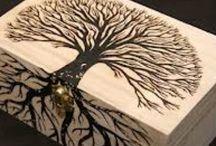 Wood Burning Art