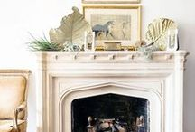 Fireplaces / by jacquelyn | lark & linen