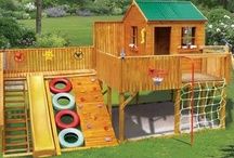 Kid's Playhouses & Treehouses