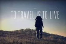 I for Inspirations: Quotes, Self-motivation / Great quotes, inspirational posters reminding me how big the World is and how eager I am to grab my bag and explore it al...  #Travel #Quote #Inspiration #backpacking #Explore #World  #Adventure / by Andréa Imbert