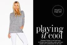 TREND GUIDE: PLAYING IT COOL / by BEYOND YOGA