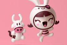 """Kawaii / """"Kawaii"""" means """"cute"""" in Japanese. The art of kawaii is sweet indeed!"""