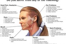 TMJ / Symptoms and treatments of TMJ.