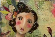 Kelly Rae Roberts Art / Mixed Media Art from Kelly Rae Roberts