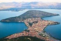 """Kastoria: The Fur City / The fur sector is an important economic activity in Kastoria.  The art processing of fur and the trade in species production developed during the Byzantine period and from then till today the region of Kastoria evolved and became the focus of global concern in the field of fur and unique processing centre in Europe.  This is the reason why Kastoria is called """"The Fur City""""."""