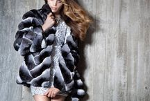 PT Chinchilla Fur Garments / Chinchilla Fur Garments by PT- Artisti Elena furs