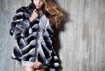 PT Chinchilla Fur Garments / Chinchilla Fur Garments by PT- Artisti Elena furs