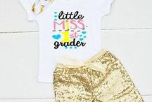 Back to School / Back to School Tips, Tricks, and Cute 1st Day of School Outfits for Preschool, Kindergarten, and 1st Grade