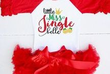 Christmas Outfits for Kids / Cute Christmas Outfits for Baby & Toddler to celebrate the Holiday Season