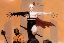 ::: ART /// Brom ::: / Gerald Brom: American Gothic-Fantasy Artist & Illustrator --- Great reference for character & concept design ideas, in these genres.