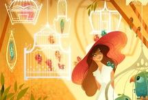 ::: ART /// Brittney Lee ::: / American Illustrator --- She loves drawing & chocolate