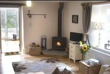 Cottages with amazing fires / Northumberland cottages with log burners and real fires for cosy nights in or autumn/winter breaks.