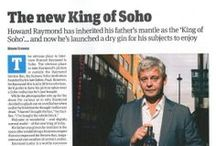 King of Soho - Press coverage / Read about The King of Soho gin in the press.