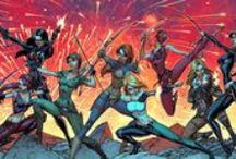 ::: ART /// J. Scott Campbell ::: / #DangerGirl #Spiderman #WildSiderz