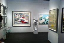 Art Fair 2014 / installation photos of Meyerovich Gallery booth at SF art fair 2014 at Fort Mason