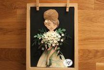 SKY vd Wel #illustrations / Cute and fairytale like illustrations.