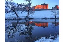 What we love about a Northumberland Christmas / Christmas in our favourite UK county - Northumberland