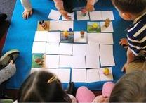 Small-space games for Sunday School. / Some children prefer games to crafts or colouring. But not all Sunday Schools have the luxury of space to run about. Here are some ideas for small spaces.