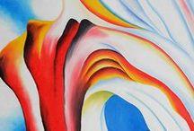 Georgia O`Keeffe / urzekająca twórczość amerykańskiej malarki, która z rzeczywistości potrafiła uczynić abstrakcję